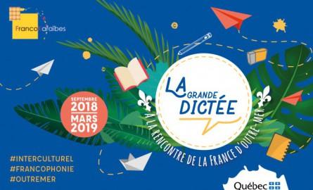 L'association canadienne FrancoKaraïbes lance « La Grande Dictée », un projet pour valoriser les cultures ultramarines
