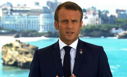 G7 : Macron veut « répondre à l'appel de l'océan et à l'appel de la forêt qui brûle »