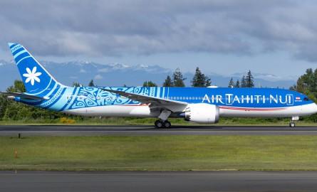 Desserte aérienne : Air Tahiti Nui reçoit son 3ème Dreamliner, le 1er en achat propre