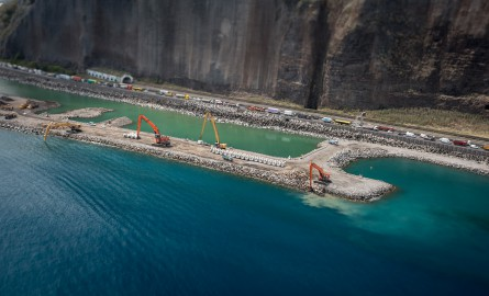 La r union la nouvelle route du littoral point d tape sur le plus grand chantier de l outre - Le grand littoral ...