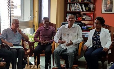 Congrès de l'ACCDOM: Le Maire de Koungou (Mayotte) en immersion à Pointe-à-Pitre pour s'inspirer de son modèle de rénovation urbaine