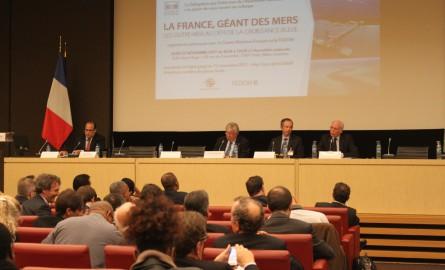A l'Assemblée nationale, un colloque pour « reconnaître la France comme géant des mers »