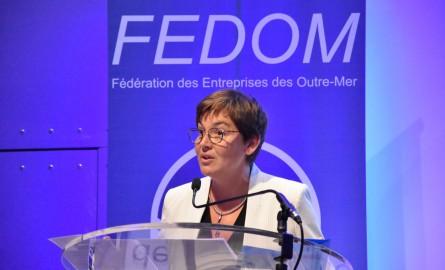 Assemblée Générale de la Fedom: La Ministre des Outre-mer annonce la mise en place de greffes privés en Outre-mer