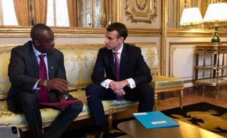 Dossier de l'Eau en Guadeloupe : le Président de Région Ary Chalus a rencontré Emmanuel Macron à l'Elysée