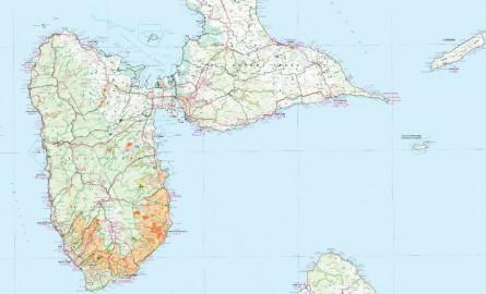 Pollution au chlordécone en Guadeloupe: La carte de contamination des sols par le chlordécone actualisée