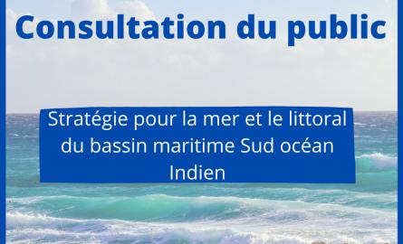L'État lance une consultation publique concernant la stratégie pour la mer et le littoral, pour le bassin maritime Sud Océan Indien
