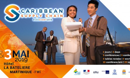 « Caribbean Supply Chain » : En mai, la Martinique accueillera chercheurs et professionnels internationaux de la Supply Chain
