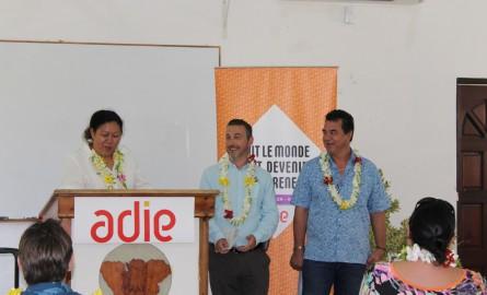 Emploi en Polynésie: Une nouvelle agence Adie à Moorea inaugurée