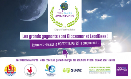 Innovation : LeedBees et Bioceanor lauréats du premier concours international Tech4Islands Awards lancé par la Polynésie française