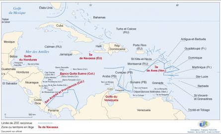 L'économie Bleue au sein de la Grande Caraïbe: l'approche collaborative essentielle et les limites des zones économiques exclusives