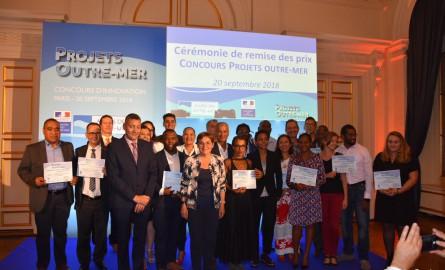 Concours Projets Outre-mer : Les lauréats récompensés par la Ministre des Outre-mer