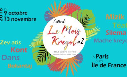 Culture: La 2ème édition du Mois Kreyol revient du 12 octobre au 13 novembre 2018