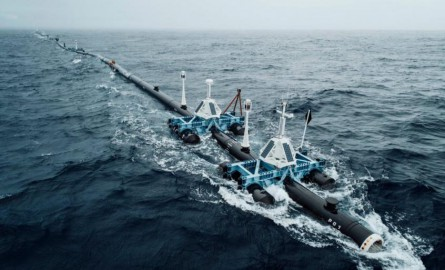 Le barrage antiplastique Ocean Cleanup est enfin en place dans le Pacifique