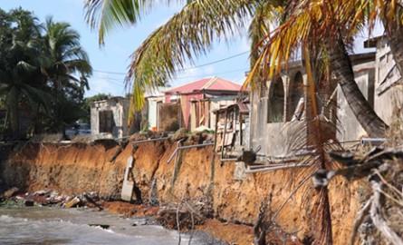 Changement climatique: L'aménagement sensible à l'érosion des côtes en Guadeloupe
