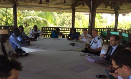 Mayotte: Une réunion entre les élus et la mission interministérielle avant son départ pour Paris
