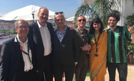 Zombillenium au Festival de Cannes: «Un grand moment pour la filière de l'image et de l'animation à La Réunion», raconte la productrice Azmina Goulamaly