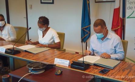 Guyane : Orange souscrit au Fonds de solidarité de la CTG et va aider les ménages en difficulté