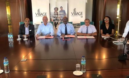 Economie en Martinique:  Le Crédit Agricole et la CCI Martinique officialisent leur partenariat avec le Village by CA