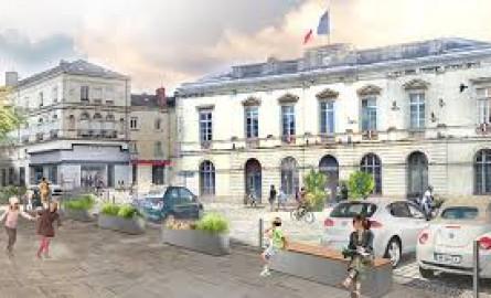 La ville de Sablé-sur-Sarthe inaugure une nouvelle place Raphaël Elizé en présence de la famille de la  Martinique