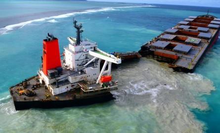 Marée noire à Maurice : Le Wakashio s'est brisé en deux