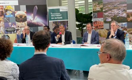 Formations en Guyane : La CTG signe une lettre d'intention avec ArianeGroup pour la création d'un campus des métiers de l'aéronautique et du spatial