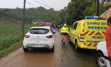 Tempête Fakir : Deux jeunes décédés dans une coulée de boue à La Réunion