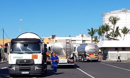 La Société réunionnaise des produits pétroliers débloquée par les forces de l'ordre